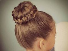 I got: Braided Sock Bun! How Should You Wear Your Hair Today?