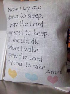 Child throw pillow handmade baby nursery by SweetMeadowDesigns, $20.00