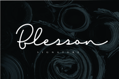 Blesson is a new, modern signature typeface. It's fine strokes and elegant lines make it perfect for personal branding and. Handwritten Fonts, All Fonts, Calligraphy Fonts, Script Fonts, Best Free Fonts, Signature Fonts, Font Setting, Typography, Lettering