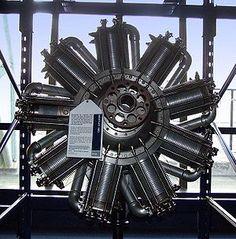 Bentley Rotary Aircraft Engine