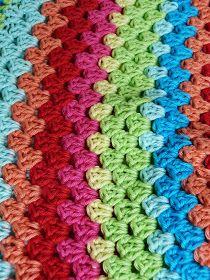Ilona's blog: Crocheted skirt, granny strip