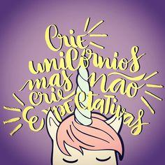 #lettering #unicorn #practice #love #noexpectations  #frasedodia
