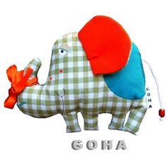 słonik na szczęście (proj. GOHA), do kupienia w DecoBazaar.com