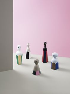 Tivoli Fantasy Figurine Design Collection by Normann Copenhagen Fantasy figurines are members of Normann Copenhagen's Tivoli brand which was inspired by the joyful colours, shapes and atmosphere of Copenhagen's Tivoli… Tivoli Park, Co Working, Warm Grey, Minimalist Design, Copenhagen, Norman, Knight, Concrete, Jade