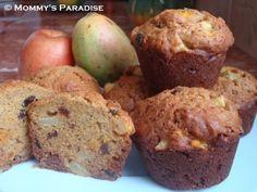 Apple Mango Raisin Muffins