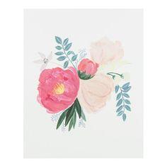 Peony Bouquet Print #landgwishlist