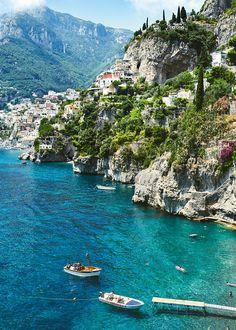 Travel Inspiration | Wedding: Kristen O'Neill & Brett Shapiro, Positano, Italy