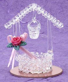 Spun Glass Wishing Well