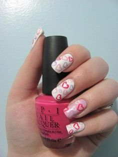 And then we look at our Valentine's Day nail art those lovely manicured nails that look great but rather boring. Related Posts:adorable valentine's day nail art valentine nail designs Valentines Day Nails Designs nail art designs for women 2016 Related Nail Art Designs 2016, Cute Nail Designs, Valentine Nail Art, Holiday Nail Art, Valentine Heart, Cute Nails, Pretty Nails, Tumblr Nail Art, Nailed It