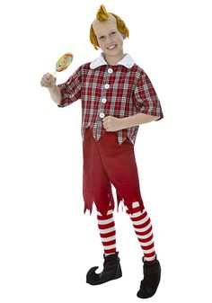 Make Wizard Oz Munchkins Costumes | ... Wonderful Wizard of Oz Characters Friends Red Munchkin Child Costume