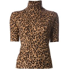 DOLCE & GABBANA leopard print sweater (€940) found on Polyvore