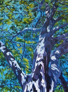 California Sycamore Fine Art Landscape by EvelynMcCPetersArt, $750.00