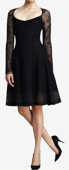 Zac Posen Black Dress...this would be perfect for all of my sorority rituals