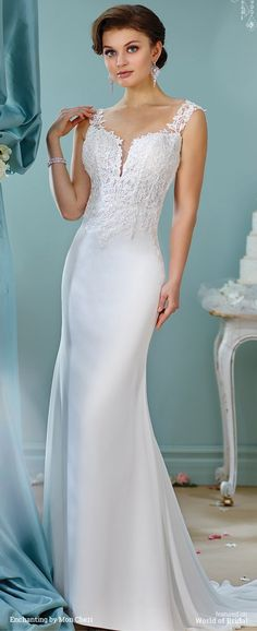 Enchanting - 216153 - All Dressed Up, Bridal Gown - Mon Cheri ...