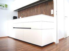 Küche | Schauraum | krumhuber.design | Sattledt Outdoor Furniture, Outdoor Decor, Outdoor Storage, Garage Doors, Inspiration, Design, Home Decor, Projects, Homes