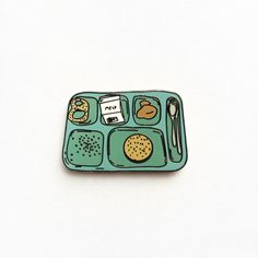 Image of Lunch Tray Enamel Pin