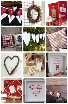DIY: 12 Christmas decoration/gift ideas {by friend memories friend memory friend Christmas Love, All Things Christmas, Winter Christmas, Merry Christmas, Handmade Christmas, Christmas Ideas, Scandinavian Christmas, Christmas Gift Decorations, Holiday Crafts