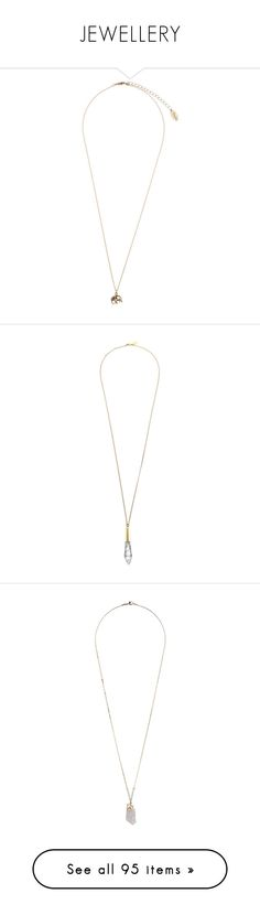 """""""JEWELLERY"""" by c-hristinep ❤ liked on Polyvore featuring jewelry, necklaces, accessories, accessories - necklace, gold, elephant pendant necklace, elephant charm necklace, mini pendant necklace, pendant necklace and elephant jewelry"""