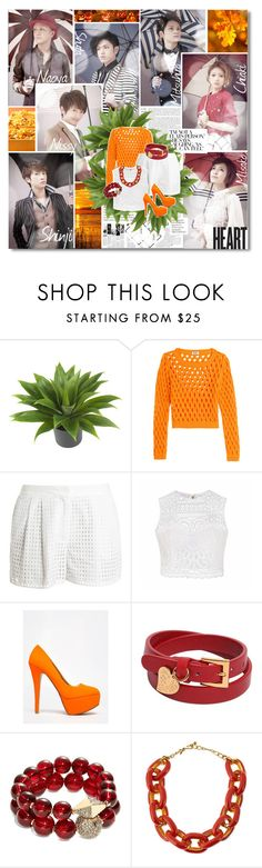 """""""AAA - Attack All Around"""" by kairimikio ❤ liked on Polyvore featuring Silver Lining, Nearly Natural, Moschino Cheap & Chic, 3.1 Phillip Lim, Ally Fashion, Anne Michelle, Valentino, T+C by Theodora & Callum and Kenneth Jay Lane"""