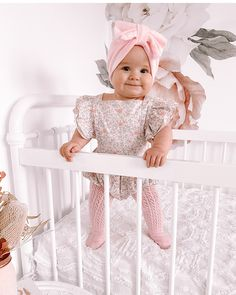 Baby Girl Clothes Cute Baby Girl Outfits, Baby Girl Romper, Baby Girl Dresses, Flower Girl Dresses, Girls Bows, Girls Rompers, Baby Girls, Babies Fashion, Kids Fashion