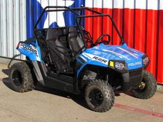 New 2017 Polaris RZR 170 EFI VooDoo Blue ATVs For Sale in Texas. 2017 Polaris RZR 170 EFI VooDoo Blue, 2017 Polaris® RZR® 170 EFI VooDoo Blue Includes safety flag, helmet and instructional DVD Parent-adjustable speed limiter Electronic fuel injected (EFI) 169 cc engine Features may include: YOUTH ALL NEW! Colors & Graphics Check out the All NEW! Colors on Outlaw, Sportsman®, and Phoenix Electronic fuel injected (EFI) 169 cc engine EFI for consistent starting, improved idle quality, and a…