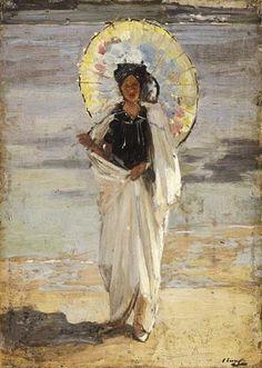 Джон Лавери (ирландский художник, 1856-1941) Лето