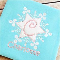 Snowflake 3 Alpha - Planet Applique Inc