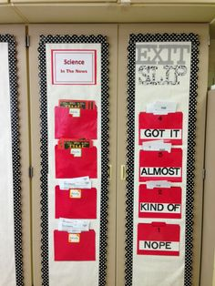 LOVE this idea no matter what subject or grade you teach! Fantastic way of assessing who grasped the material.