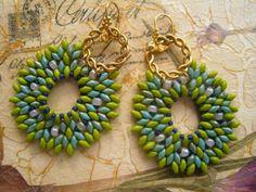 beading, earrings