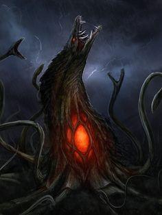 Big Broccoli Monster by Tapwing on DeviantArt Godzilla Suit, Godzilla Tattoo, All Godzilla Monsters, Godzilla Wallpaper, Myths & Monsters, Monster Art, Pokemon, Dragon Art, King Kong