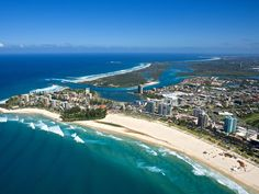 Coolangatta, Australia (Escorted students and stayed for 3 weeks in a hotel on the beach. Heaven!)