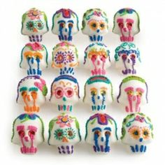 Learn how to make Mexican sugar skulls.