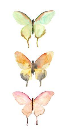 #watercolorart #butterflyart #AnimalWallArt