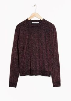 & Other Stories | Sparkling Merino Wool Sweater