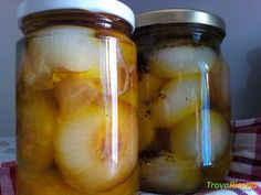 Cipolline borettane in agrodolce conservate sottolio  #ricette #food #recipes