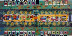 Orient Express | Image | BoardGameGeek Orient Express, Mystery, Boards, Mansions, Painting, Image, Art, Planks, Art Background