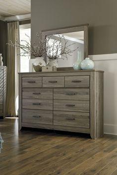 Zelen Dresser & Mirror