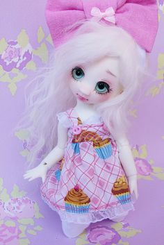 Opal with new wig | Flickr: partage de photos! #nympheasdolls #bjd #doll #dolls #balljointeddolls #art