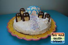 Penguin Birthday Cake!
