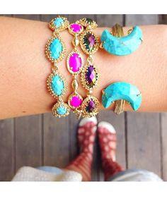 Ahni Link Bracelet in White Pearl - Kendra Scott Jewelry