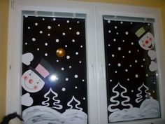 2017 year for preschool wall, window decorations and cell phones, school twins - Christmas Classroom Door, Christmas Door, Christmas Crafts For Kids, Xmas Crafts, Classroom Decor, Christmas Window Decorations, Theme Noel, Ideas, Christmas Decorating Ideas