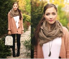 open cardigan look, Hot street styles ideas http://www.justtrendygirls.com/hot-street-styles-ideas/