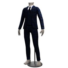 Tartan Groom Formal Suit