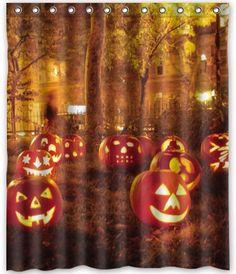 Set Of 12 Adorably Spooky Halloween Shower Curtain Hooks | EBay | Oh The  Decoru0027or   Bathroom Beauty | Pinterest | Halloween Shower Curtain, Shower  Curtain ...