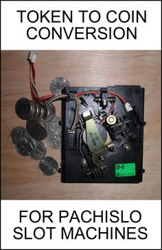 Pachislo Slot Machine TOKEN TO COIN CONVERSION Manual