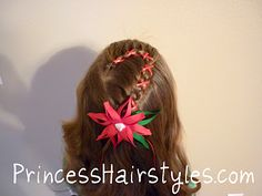 Candy Cane Braid  Hairstyles For Girls - The Story Of A Princess And Her Hair