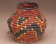 "Navajo Style Olla Basket 7"""" (a31)"