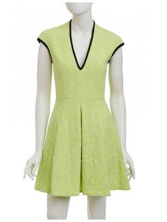 Nanette Lepore Moonwalk Dress in Lime