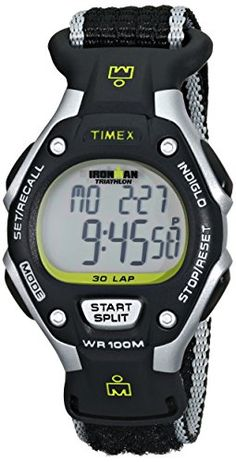Timex Womens T5K8359J Ironman Rugged Resin Watch with Nylon Band *** Continue to the product at the image link.