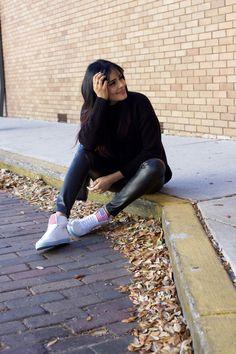 A parisian in America by Alpa R | Orlando Fashion Blogger: A Parisian in America in Sneakers Version !